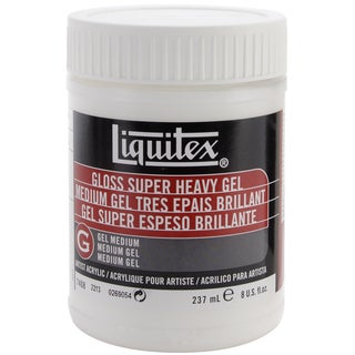 Liquitex Super Heavy Gloss Gel Medium-8 Ounces