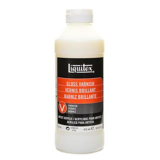 Liquitex Gloss Acrylic Varnish-16 Ounces
