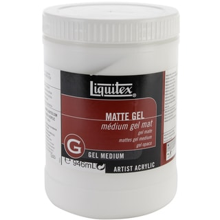 Liquitex Matte Gel Medium-32 Ounces