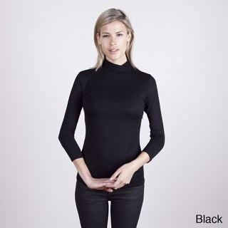 Colour Works Women's Crossover 3/4 Sleeve Pullover