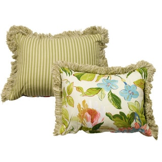 St Croix Decorative Floral Print 11x15-inch Pillow