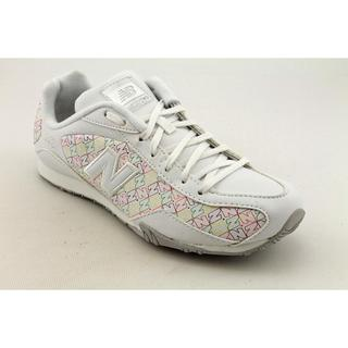 New Balance Women's 'CW442' White Leather Athletic Shoe (Size 5)