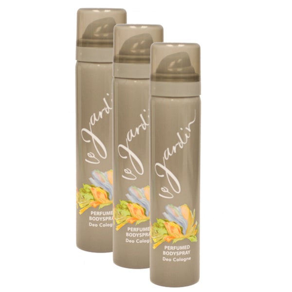 Le Jardin Women's 2.5-ounce Perfumed Body Spray (Pack of 3)