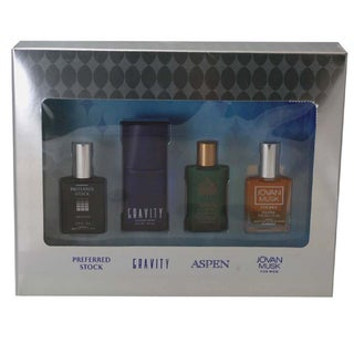 Coty Omni Collection Men's 4-piece Gift Set