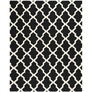 Safavieh Handmade Moroccan Cambridge Black Wool Rug