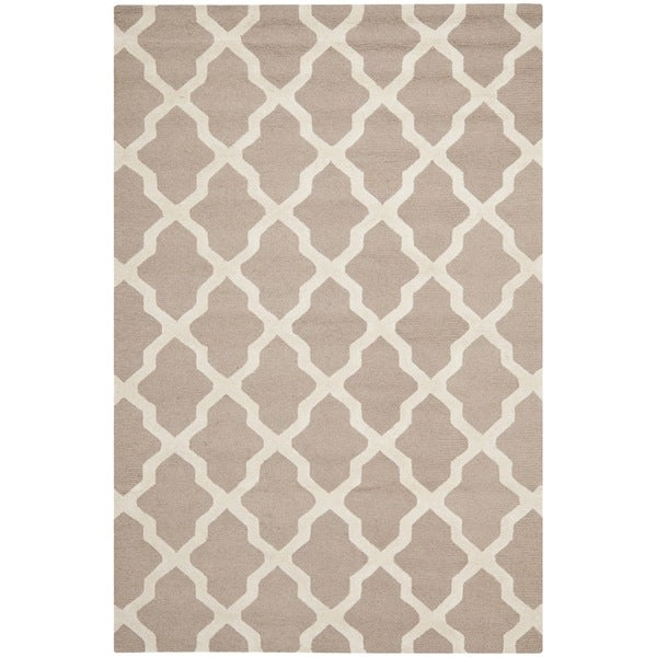 Safavieh Handmade Moroccan Cambridge Beige Wool Rug