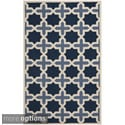 Safavieh Traditional Handmade Cambridge Moroccan Light Blue Wool Rug