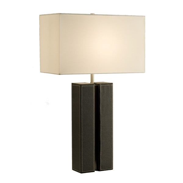 Page Single-light Brushed Nickel Table Lamp