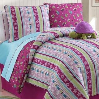 VCNY Khloe Reversible 4-piece Comforter Set