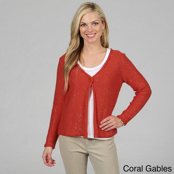 Women's Sparkler Cardigan Sweater