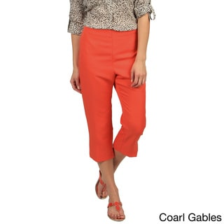 Celebrating Grace Women's Croquet Crop Pant