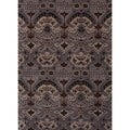Hand-tufted Transitional Gray Wool Rug (3'6 x 5'6)