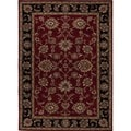 Hand-tufted Traditional Red Wool Runner (2'6 x 6')