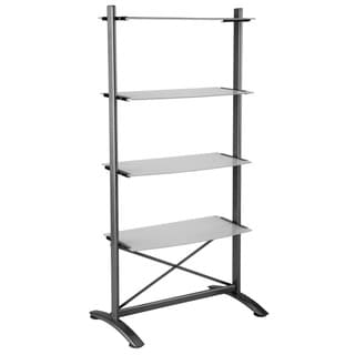 Bjorn Tempered Glass Shelf Unit