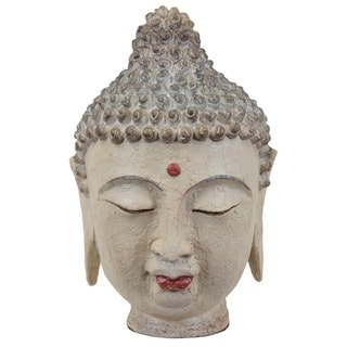 Urban Trends Collection 15-inch Resin Buddha Head