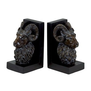 Urban Trends Collection 7-inch Resin Bookends