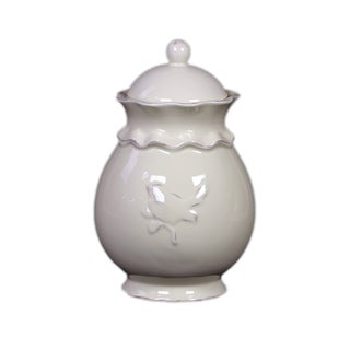 Ceramic Jar with Lid Large