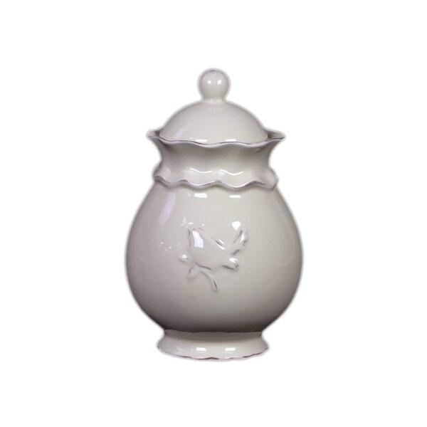 Ceramic Jar with Lid Small