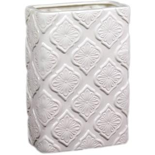 Urban Trends Collection 13-inch White Ceramic Vase