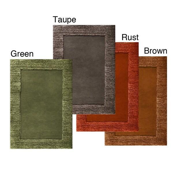 Jovi Home Hand-tufted Taupe Area Rug