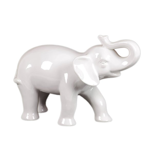 Decorative ceramic elephant 14968067 overstock com shopping