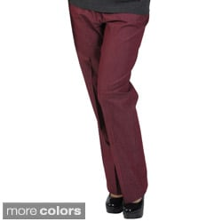 Larry Levine Women's Tailored Stretch Pants