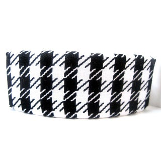 Crawford Corner Shop Black White Houndstooth Barrette