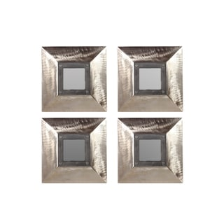 Urban Trends Collection Wooden Mirror (Set of 4)