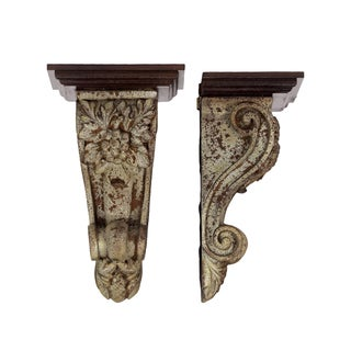 Urban Trends Collection Resin Corbel (Set of 2)