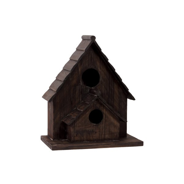 Urban Trends Collection 17-inch Wooden Bird House