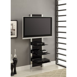 AltraMount TV Stand in Glass/Chrome