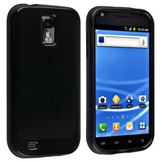 BasAcc Black TPU Rubber Case for Samsung© Galaxy SII T-Mobile T989