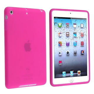 BasAcc Hot Pink Silicone Skin Case for Apple� iPad Mini