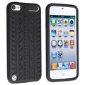 BasAcc Black Silicone Skin Case for Apple iPod touch 5th Generation