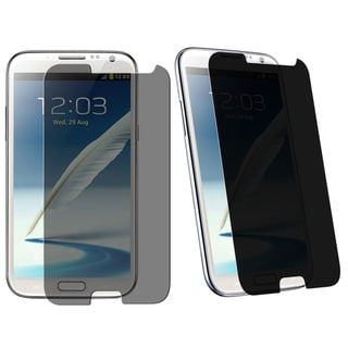 BasAcc Privacy Filter Protector for Samsung� Galaxy Note II N7100