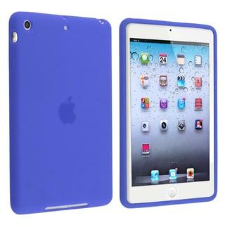 BasAcc Dark Blue Silicone Skin Case for Apple iPad Mini 1/ 2 Retina Display