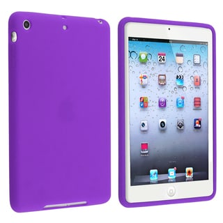 BasAcc Purple Silicone Skin Case for Apple iPad Mini 1/ 2 Retina Display
