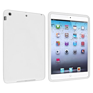 BasAcc White Silicone Skin Case for Apple iPad Mini 1/ 2 Retina Display