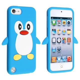 BasAcc Blue Penguin Silicone Case for Apple� iPod touch Generation 5