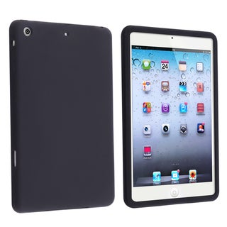 BasAcc Black Silicone Skin Case for Apple iPad Mini