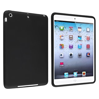 BasAcc Black Silicone Skin Case for Apple iPad Mini 1/ 2 Retina Display