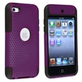 BasAcc Black/ Purple Hybrid Case for Apple iPod Touch Generation 4