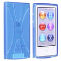 BasAcc Blue TPU Rubber Skin Case for Apple iPod nano 7th Generation