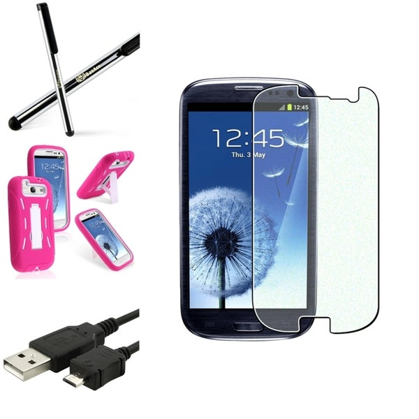 BasAcc Case/ Screen Protector/ Cable/ Stylus for Samsung© Galaxy S3