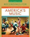 An Introduction to America's Music: Recordings (CD-Audio)