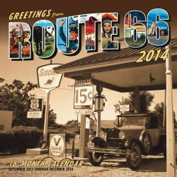 Greetings from Route 66 2014 Calendar (Calendar)