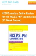 HESI / Saunders Online Review for the NCLEX-RN Examination Access Code: 16 Week Course (Other merchandise)