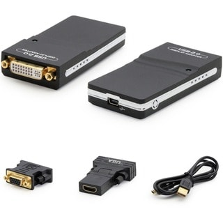 AddOn USB to DVI Hi-Res Multi Monitor Adapter/External Video Card