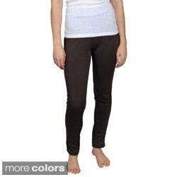 Allison Brittney Brand Juniors Banded Stretch Leggings