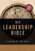 Leadership Bible: New International Version, Leading by the Book (Hardcover)
